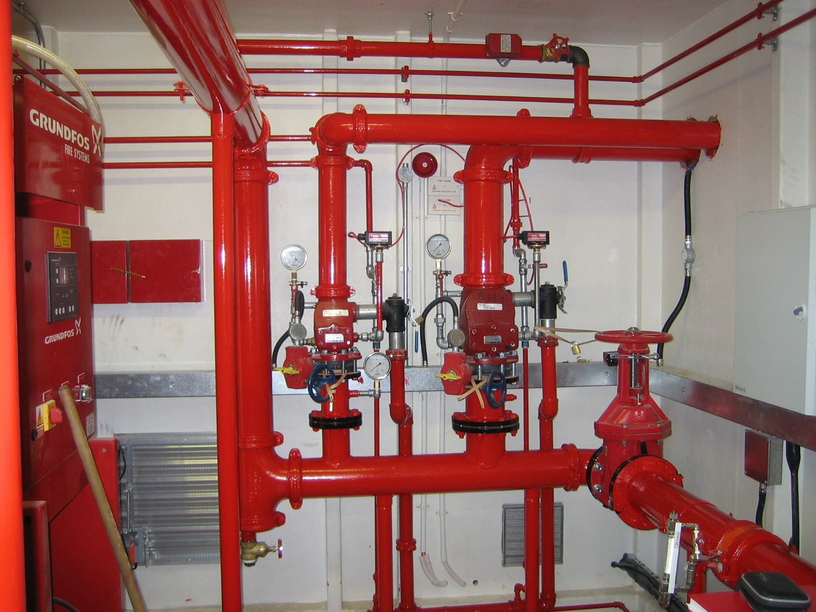 Types of Fire Sprinkler Systems Fireline